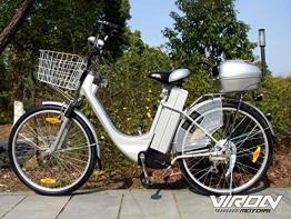 "Elektrofahrrad 250W / 36V E-Bike 26"" Zoll Pedelec Fahrrad mit Motor Citybike"