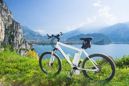 e-bike, pedelec, gardasee, fahrrad, mountainbike