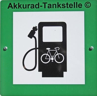 Dein-Pedelc.de Akkurad Tankstelle