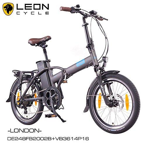 ncm london 2016 20 zoll elektrofahrrad e faltrad e bike. Black Bedroom Furniture Sets. Home Design Ideas