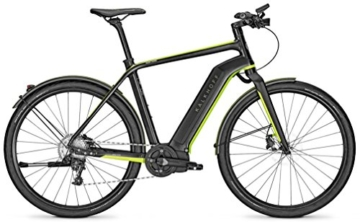 E-Bike Kalkhoff Impulse Evo INTEGRALE LIMITED BLACK 11G 14AH 36V 28 Zoll Herren, Rahmenhöhen:50;Farben:black/greenm -