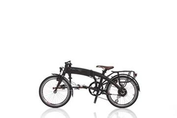 Fischer E-Bike Faltrad, Schwarz, 20